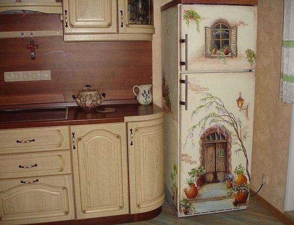 Как украсить холодильник своими руками с фото